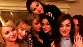 Taylor Swift & Selena Gomez Sing Camila Cabello Happy Birthday!