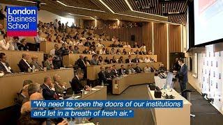 Greek Prime Minister Alexis Tsipras   London Business School