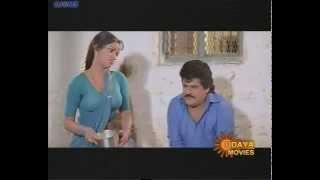Udaybhanu Hot in Half Saree