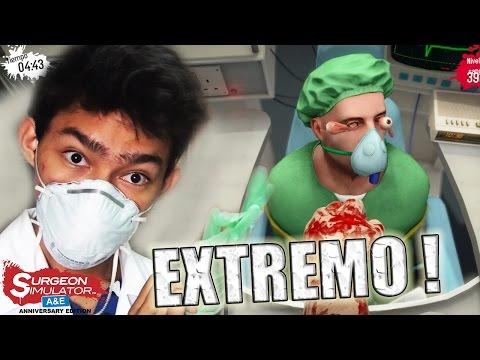TRASPLANTE DE OJOS EXTREMO Surgeon Simulator Anniversary Edition