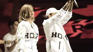 BAD - Young Lex ft Awkarin Live ISMA 2016