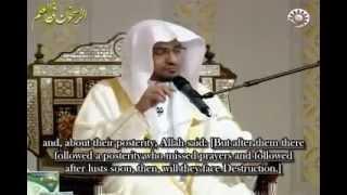 Khushu'u in Salah- Sheikh Saleh Al-Maghamsi