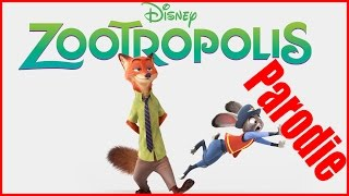 Zootropolis: Město zvířat parodie - Zootropolis 2016