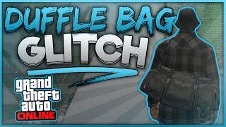 GTA 5 Online - *EASY* DUFFLE BAG GLITCH! 1.4 - How to Get & Transfer Duffle Bag in GTA 5 Online!