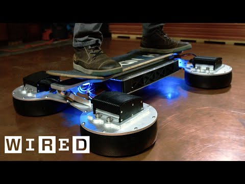 Riding the New Hendo Hoverboard 2.0 OOO with Brent Rose
