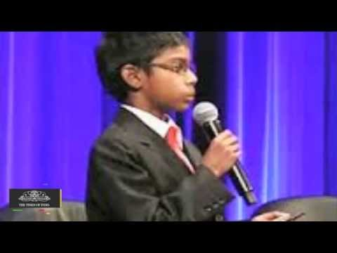 8 year old Indian Origin CEO to Give Lecture at Cybersecurity Summit - TOI