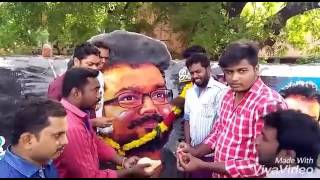 Thalapathy 43 vijay anna birthday celebrations by madurai fans