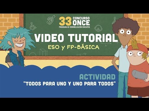33 Concurs ONCE - Video Tutorial ESO FP Bàsica CATALÁN