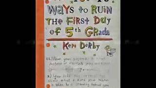 The Top 10 Ways to Ruin the First Day of 5th Grade