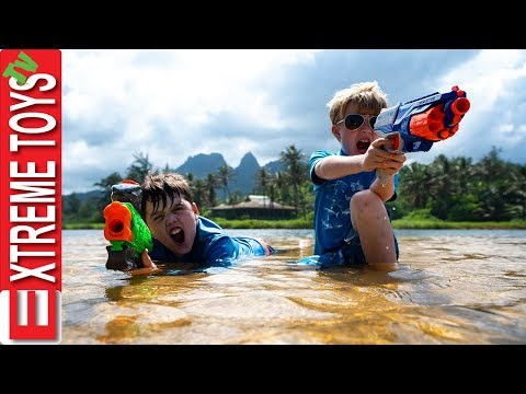 Xxx Mp4 Nerf Battle With Jungle Creatures Sneak Attack Squad Mayhem In Hawaii 3gp Sex