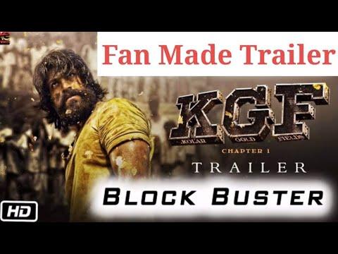 KGF ಕೆ ಜಿ ಎಫ್ First look Teaser. Rocking star Yash , prashanth neel direction     A289 - By Fan