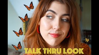 MY CURRENT EVERYDAY MAKEUP LOOK - TALK THRU / GREEN BEAUTY