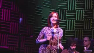 Sarah Farrell sings