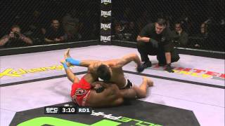 EFC 37 Free Fight: Don Madge vs Hector Brits