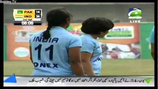 PAKISTAN VS INDIA WOMAN KABADI MATCH 3RD MARCH 2014 FULL HD PART 1