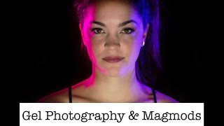 Strobist Lighting Techniques - MagMod Gel Photography Shoot