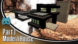 ARK: Building w/ Fizz :: Modern House part 1