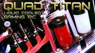 VIBOX Killer V - £9,000 Best Gaming PC 2013 Liquid Cooled Quad SLi GTX TITAN - Overclocked i7 3970x