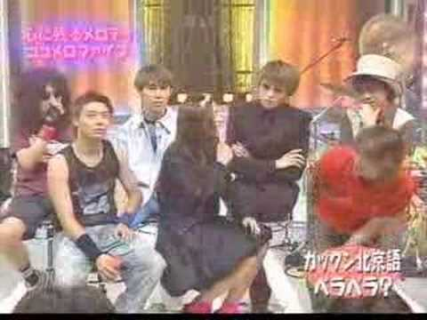 Gackt speaks mandarin with Vivian Hsu