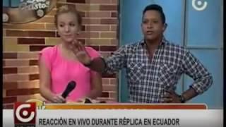 Replica Terremoto Ecuador 2016 Programa en vivo