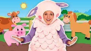 Learn Farm Animals | Old Mac Donald had a farm | Mother Goose Club Kid Songs | Baby Song Compilation