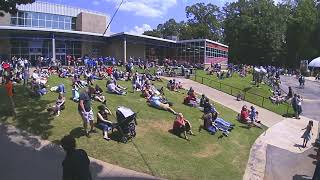 Eclipse viewing at the U.S. Space & Rocket Center