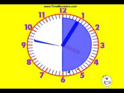 Learn to tell time Part I