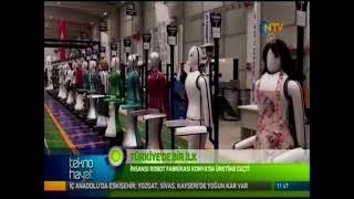 """NTV, """"Tekno Hayat"""" programında yayınlanan; AKINROBOTICS resmi açılış haberi"""