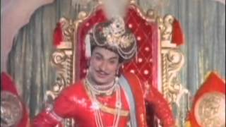 Sri Krishna Devaraya RajKumar KANNADA Super Hit Scene