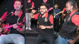 Virat Kohli And Chris Gayle Dance While Shane Watson Sings!