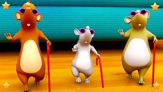 Three Blind Mice | Nursery Rhymes Songs for Kids | English Kindergarten Cartoons by Little Treehouse