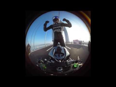 Fastest Motor in the world ! 400 km on Bridge @ Turkey by Kenan !