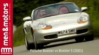 Richard Hammond Compares The Porsche Boxster vs Boxster S (2001)