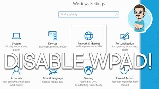 How to Disable Web Proxy Auto-Discovery (WPAD) on Windows 10