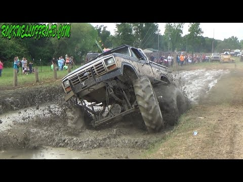 BADDEST TRACTOR MUD TRUCKS IN ZWOLLE LA