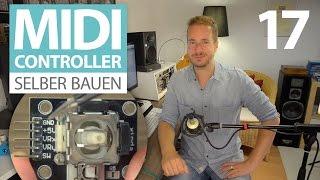 Arduino Joystick Tutorial (DIY MIDI Controller) - deutsch - E17