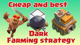 Clash of Clans | Best Dark Elixir Farming Strategy TH 7(TOWNHALL 7) |