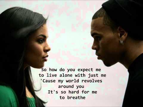 Jordin Sparks Feat. Chris Brown No Air Lyrics HQ