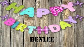 Henlee   wishes Mensajes