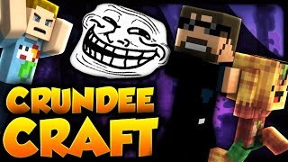 Minecraft: THE STOLEN BOBBY TROLL | CRUNDEE CRAFT