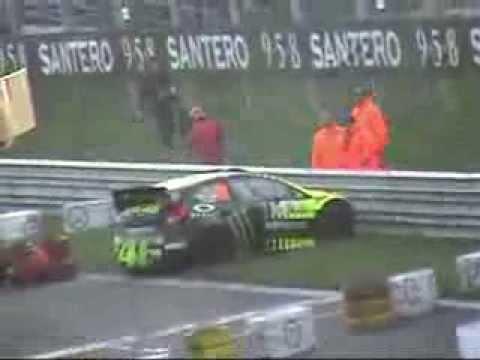 Rossi vs Cairoli - Rally Monza 2013
