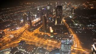 Dubai at Night Burj Khalifa 1080p HD