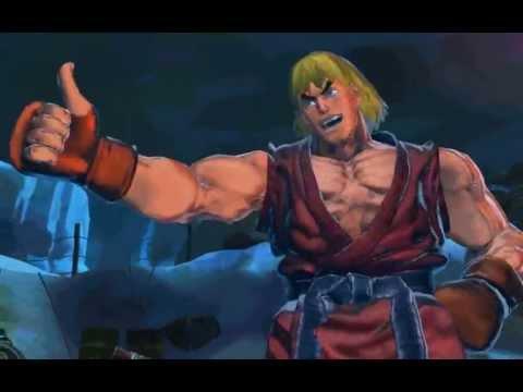 HD Street Fighter x Tekken Ryu & Ken Story Mode