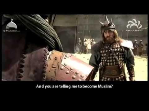 Hz.Ali k.v Hayber kalesi Haris Ve Merhab Battle Of Khyber Imam Ali English Subtitles