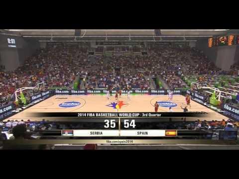 watch FIBA World Cup 2014 Group A Serbia vs Spain