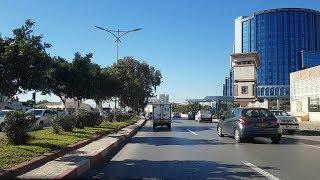 Driving in oran Algérie 15 02 2019 وهران الجزائر