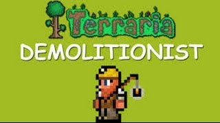 Terraria: How to get the demolitionist