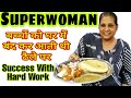 Super women Patiala Shahi Nutri Kulcha (Ludhiana Street food review by Goldy Singh)