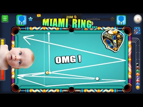 CRAZIEST SHOT EVER TO GET THE RING Pot or Not 8 Ball Pool Miami Ring 9 Ball Pool