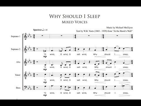 ANÚNA : Why Should I Sleep (Michael McGlynn)